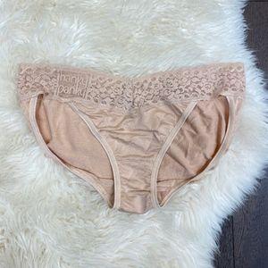 Hanky Panky Logo to go Panty Nude Size M